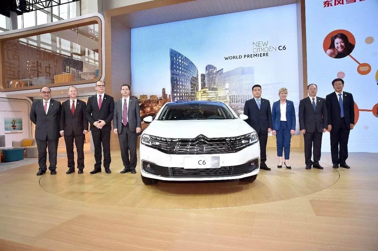 风雪铁龙新C6北京车展发布_广西龙康汽车新闻资讯】-汽车之家高清图片